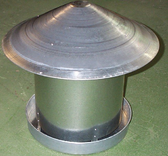 20 kg Metal feeder with China Hat